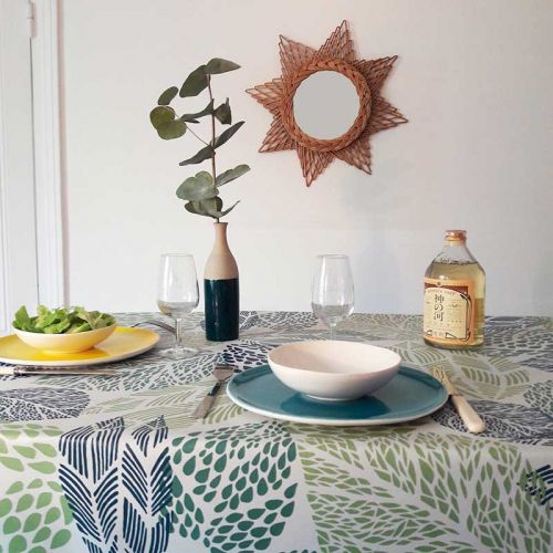 Tovaglie rotonde e ovali antimacchia accessori casa gotti shop - Tovaglia per tavolo ovale ...