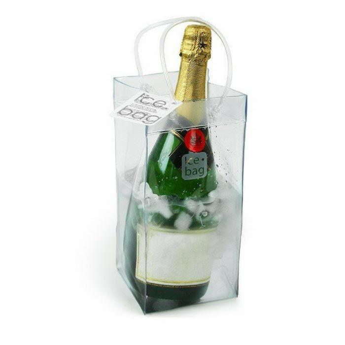 ICE BAG SECCHIELLO Borsa porta ghiaccio vino VIOLA